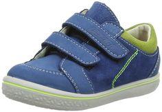 Ricosta Timmy, Boys' Low-Top Sneakers, Blue (Petrol 141), 6 Child UK (23 EU) - £31.10