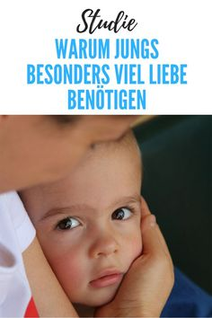 """Studie: Warum gerade Jungs jede Menge Liebe brauchen For a long time, boys were raised to a """"strong sex"""". They should be tough and strong and do not show too much emotion. But now a study shows Peaceful Parenting, Kids And Parenting, Parenting Hacks, Baby Co, Mom And Baby, Baby Care Tips, Baby Development, Baby Kind, Kids Health"""