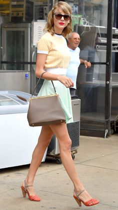 27 Reasons Why Taylor Swift Is a Street Style Pro - July 1, 2013 from #InStyle