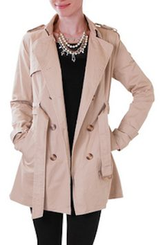 Burberry inspired trench for only $78 http://rstyle.me/n/e2ixwnyg6