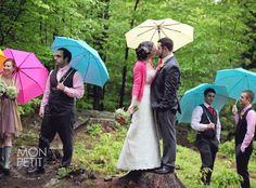 Hilary   Shawn's Perfectly Rainy Lakeside Wedding – Blue Water Farm, Andover NH