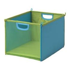 "KUSINER box, turquoise, green Length: 10 "" Width: 14 "" Height: 10 "" Length: 26 cm Width: 36 cm Height: 26 cm"