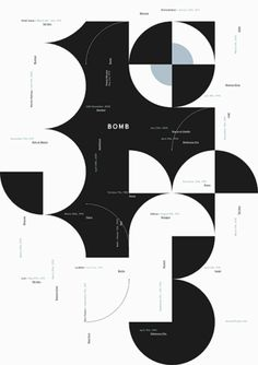 Poster by Andrea Dell'Anna… – tilman Plakat von Andrea Dell'Anna (www. Design Visual, Graphisches Design, Buch Design, Grid Design, Cover Design, Circle Design, Shape Design, Layout Design, Graphic Design Posters