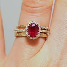 antique ruby engagement rings - Google Search