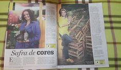 Revista Donna, Periodico Zero Hora, Brasil (pag 1)