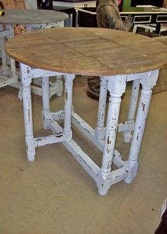 Gateleg table (william and mary)