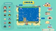 Animal Crossing Funny, Animal Crossing Guide, Animal Crossing Qr Codes Clothes, Ikea Island, Island Map, Bug Images, Ac New Leaf, Motifs Animal, Image Macro