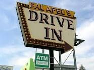 Falafel's Drive-In, San Jose, CA.  Best falafels ever.