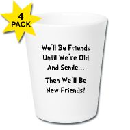 Mugs & Drinkware ~ Shot Glasses (set of 4) ~ Shot Glas