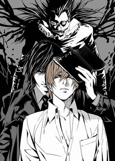 Ryuk, Mikami, and Light Yagami | Kira        _Death Note