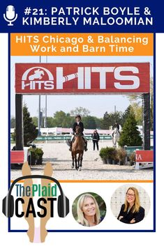 Showplace Productions' Patrick Boyle takes us on a tour of the new HITS Balmoral facility in Chicago. Kimberly Maloomian talks about amateur success, balancing horse time and being a registered dietician, and her foray into the dressage arena.