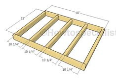 Large Dog House - Step by step Plans | HowToSpecialist - How to Build, Step by Step DIY Plans Large Dog House Plans, Extra Large Dog House, Large Dogs, Pallet Dog House, Build A Dog House, House Building, Dog House With Porch, Farm House, Cheap Dog Kennels