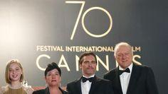 """Le jury du 70e Festival de Cannes annonce son palmarès dimanche, au lendemain de la présentation du film de Lynne Ramsay, """"You were never really here"""", qui a marqué critiques et journalistes."""