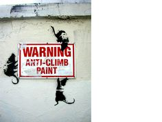 I've been meaning to write about the recurring use of rats in Banksy 's work – the fly-by-night instances of art-for-art's sake (and subv. Street Art Banksy, Banksy Graffiti, Banksy Rat, Seen Graffiti, Bansky, Canvas Poster, Poster Prints, Canvas Art, Pop Art