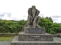 Sculpture depicting Connemara at Recess, Galway Connemara, Emerald Isle, Number Two, Ireland Travel, Land Scape, Garden Sculpture, Photographs, Statue, History