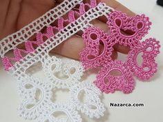 KENAR DANTEL ÖRNEĞİ SADE VE ŞIK ÖMÜR TÜKETEN MODELİ   Nazarca.com Crochet Necklace, Asd, Jewelry, Fashion, Tricot, Crochet Doilies, Rage, Dressmaking, Moda
