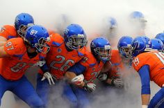 Boise State Broncos-Finding a pic of your brother on pinterest...priceless!!!