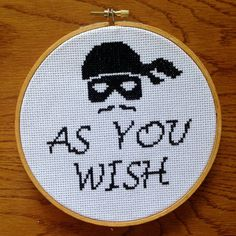Hey, I found this really awesome Etsy listing at https://www.etsy.com/uk/listing/279112880/princess-bride-cross-stitch-pattern