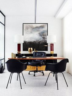 Modern home office desk. The modern home office desk helps you to do the task perfectly and create the difference in your home interior as long as you purchase the right one.