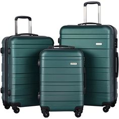 New Trending Luggage: Luggage Set Spinner Trolley Suitcase Hard Shell Carry On (Dark Green). Luggage Set Spinner Trolley Suitcase Hard Shell Carry On (Dark Green) Special Offer: $119.99 211 Reviews Best choice for Traveling ,perfectly fit for business or family use Transport your travel essentials effortlessly and stylishly. This extremely lightweight and durable spinner...