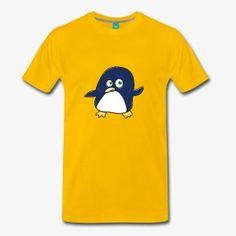 Pinguin Tanzt Betrunken - Männer Premium T-Shirt