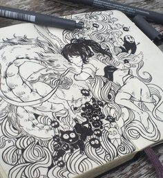 picolo-kun: Studio Ghibli inspired doodles