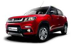 Maruti Vitara Brezza has been unveiled at the Auto Expo This is the first unveil on this edition of the Motor Show. Maruti Vitara Brez - Maruti Suzuki News at CarTrade Crossover, Upcoming Cars, Auto Retro, Honda City, Bike News, Compact Suv, Thing 1, Auto News, Car Prices