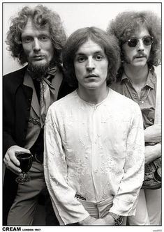 Size: 33x23in Cream- Eric Clapton, Ginger Baker & Jack Bruce, London 1967Choose from our catalog of over 500,000 posters! This versatile and affordable poster delivers sharp, clean images and a high degree of color accuracy. Your poster is printed with an offset lithography press with a coating to protect the inks. Beatles, Rock And Roll, Cream Eric Clapton, Historia Do Rock, Ginger Baker, The Ventures, Jack Bruce, Jazz, Photo Vintage