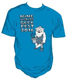 New Nine Worlds Official 2016 Limited Unisex T-shirt