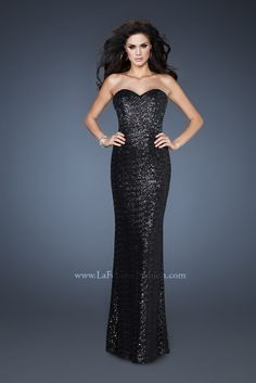 This LaFemme Dress & other Long Prom Dresses at Bridal & Formal by RJS 615-522-0201 Low price guaranty.