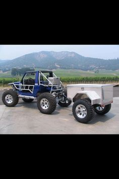 Panther A2 Expedition Trailer 5x10 Teartrop Trailer