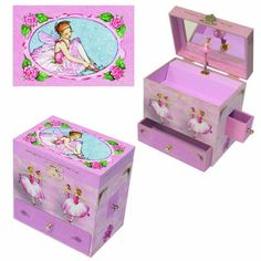 Black Friday 2014 Ballerina Treasure Music Box from Enchantmints Cyber Monday. Black Friday specials on the season most-wanted Christmas gifts. Decorative Accessories, Decorative Boxes, Jewelry Accessories, Musical Jewelry Box, Music Jewelry, Tiny Treasures, Treasure Boxes, Wooden Jewelry, Gifts For Girls