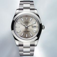 Rolex Oyster Perpetual Datejust II en acier bientôt sur Leasy Luxe ! // www.leasyluxe.com #rolex #details #leasyluxe