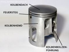 Kolben und Kolbenringe: Aufbau und Bezeichnung - Wespenblech - Vespa Archiv Piaggio Vespa, Vespa P200e, Scooter Bike, Combustion Engine, Mini Bike, Yamaha, Engineering, Bikers, Racing