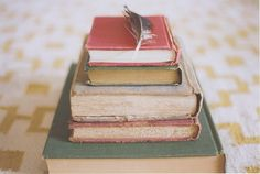 vintage books (by even eve) Love old books..