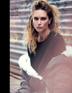 Black is Back | Marie Claire Italia October 2014 | Erin Wasson by David Bellemere #fashioneditorials #IsabelMarant