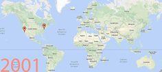 Mapa mundial animado con cada una de las +400 tiendas Apple Store inauguradas desde 2001   Movida Apple