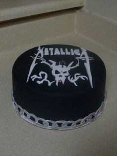 Cake Decorating Classes Plano Tx : Metallica themed cake Party Ideas Pinterest ...