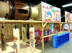 Play Center Theming and Branding | Atomic Playgrounds