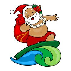 k t qu h nh nh cho cute hawaiian santa vector hawaiian christmas rh pinterest com