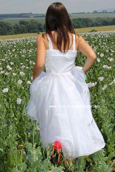 White girl dress. Sandy Grease Inspired Dress Girls White Dress, White Girls, Girls Dresses, Flower Girl Dresses, Sandy Grease, Miss Dress, Inspired, Wedding Dresses, Inspiration