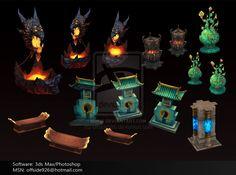 props/objects by offside926.deviantart.com on @deviantART