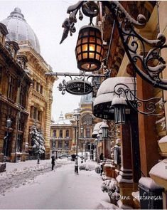 March snowy Sunday ⛄️ Courtesy of Admins: 📍Bucharest, Romania 🇷🇴 Tag your best travel photos with 🌌 Good Deeds Good Vibes 🌌. Oh The Places You'll Go, Places To Travel, Places To Visit, Travel Destinations, Winter Destinations, Travel Tourism, Air Travel, Vacation Places, Beautiful World