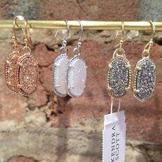 Your new everyday earrings! Kendra Scott Lee earrings- $65 #madisonsbluebrick…