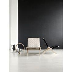 Carl Hansen MG501 Cuba fauteuil. Je vouwt het zo op! #CarlHansen #fauteuil #design #Flinders