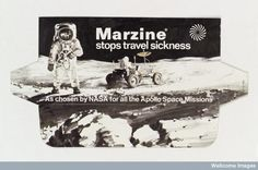 Packaging for Marzine anti-nausea drug -  ©Wellcome Images