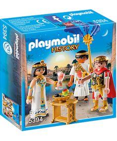 PRE-VENTA PLAYMOBIL ® 5394 CESAR Y CLEOPATRA