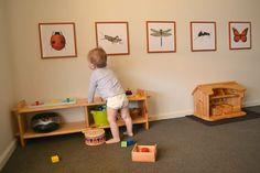 Otis's Montessori Room. Otis 13 months.