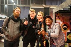 MTV EMA '16 afterparty @mudlysbarbershop