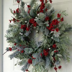 Christmas Wreath-Winter Wreath-Holiday Wreath-Elegant Holiday